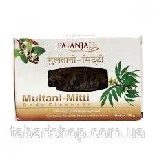Мыло Патанджали с глиной Мултани Митти, Soap Multani MittiPatanjali, 75г