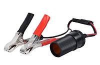 Переходник аккумулятор-прикуриватель c предохранителем 15 А Elegant Plus EL 101 511