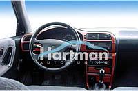 Накладки на торпеду под дерево - Nissan Sunny 1990-1995 (декор панели Ниссан Санни)