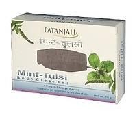Мыло Патанджали Мята Тулси, Soap  Mint Tulsi Patanjali, 75г