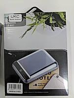 Портативное зарядное Power bank 10400mAh metal Z-087 внешний аккумулятор