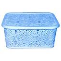 Корзина для белья Ажур 28 л с крышкой Elif Plastik 324