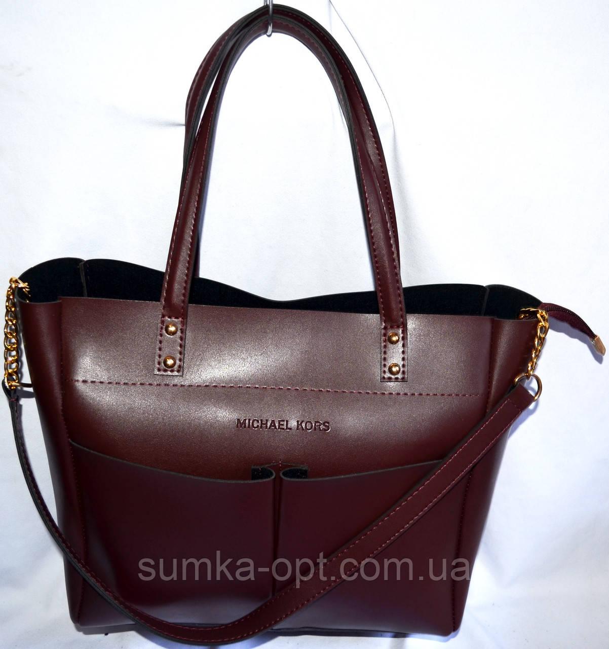 209e7efd537f Женские модные сумки с длинным ремешком МК (бордо эко кожа)28*31см ...