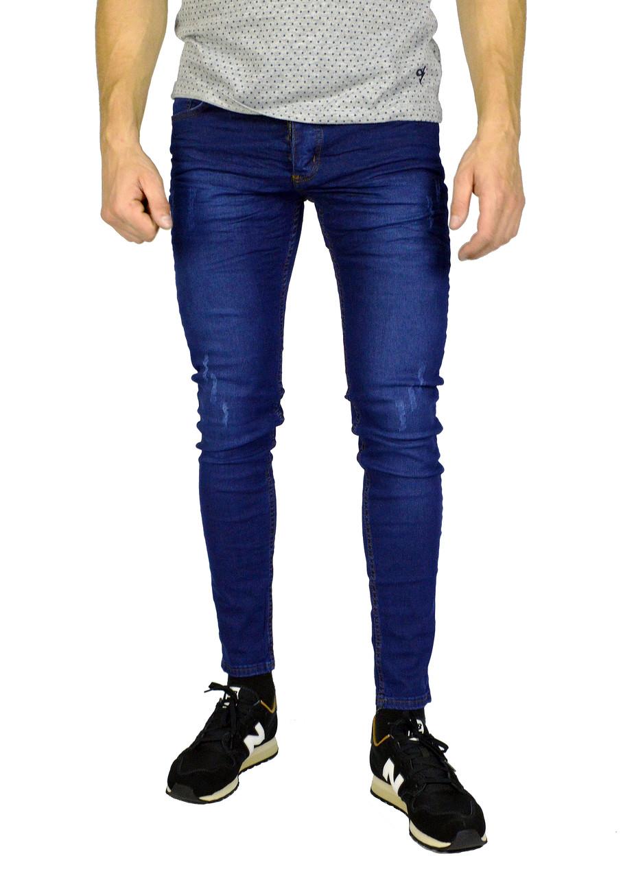Синие молодежные джинсы скини DSQUARED