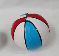 Мяч баскетбольный детский резиновый d17 см