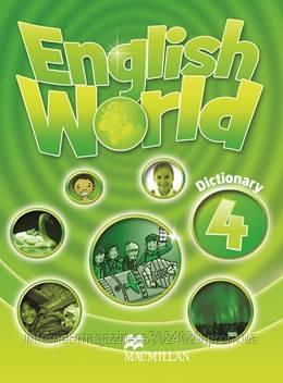 English World 4 Dictionary ISBN: 9780230032170