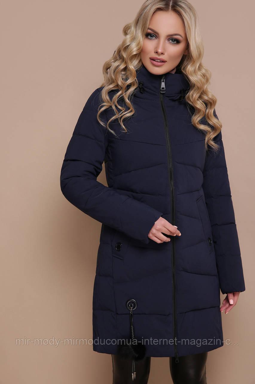 Куртка 18-79. Цвет: синий размеры (S M)  (гм)