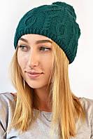 Шапка Кети зеленая