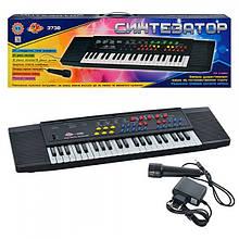 Електронний синтезатор (піаніно) з мікрофоном Profi (SK 3738)