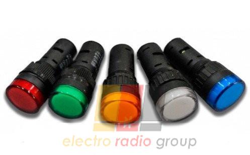 Сигнальная арматура  AD16-22DS    24V   (зеленый)  Daier