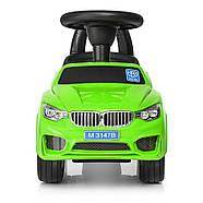 Каталка-толокар для малышей с магнитолой BAMBI M 3147B(MP3)-5 BMW прорезиненные колеса, фото 4