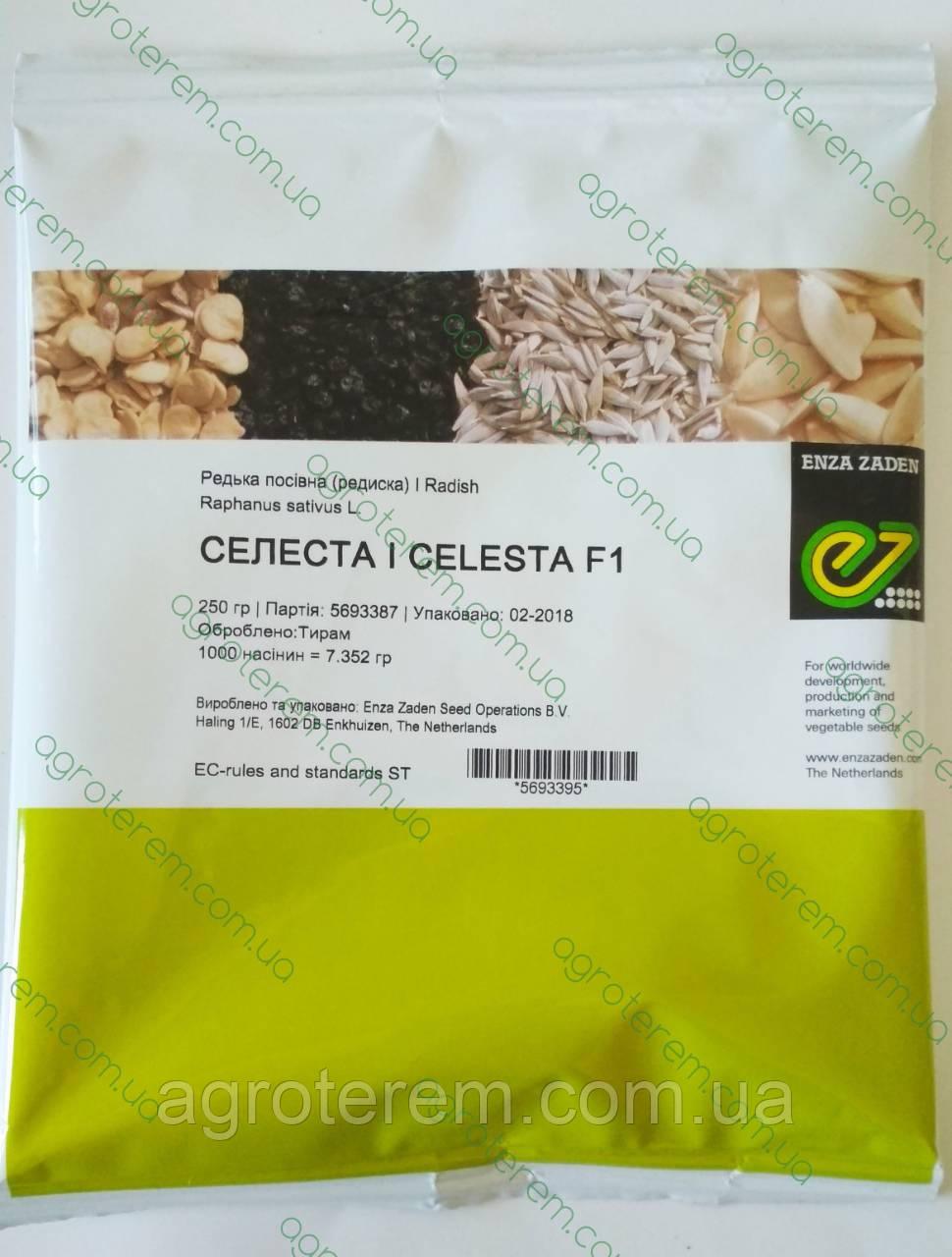 Семена редиса Селеста SELESTA F1 250г, фото 1