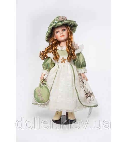Декоративная фарфоровая кукла Симона