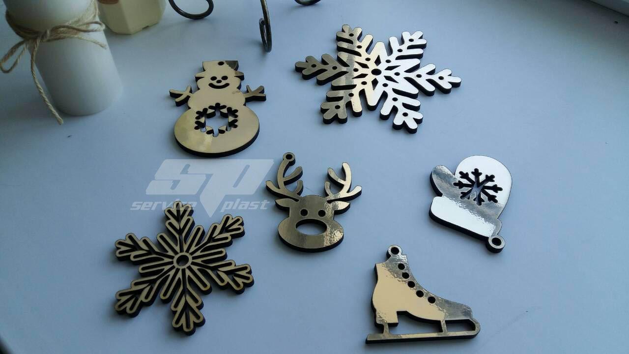 Снежинки из пенопласта, фанеры, дерева. Заготовки из фанеры, новогодние игрушки, новогодний декор, декорации