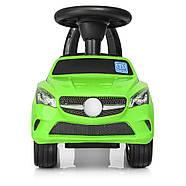 Каталка-толокар для малышей с магнитолой BAMBI M 3147C(MP3)-5 Mercedes прорезиненные колеса, фото 4