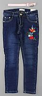 Джинсовые брюки на флисе для девочек Seagull оптом, 134-164 рр.