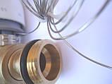 """Термостатический 3-ходовой зонный клапан с функцией разделения и смешения потока (1"""")+термоголовка с датчиком, фото 6"""