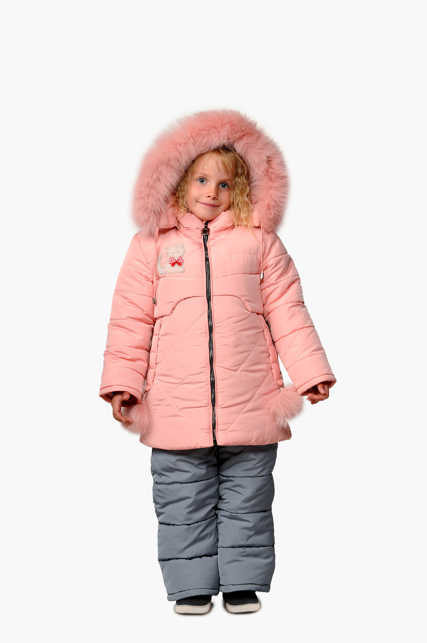 Зимний костюм для девочки интернет магазин  22-28