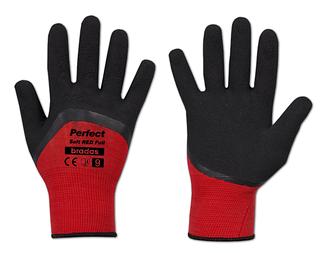 Рукавиці захисні Bradas PERFECT SOFT RED FULL латекс 9