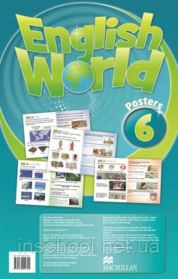 English World 6 Posters ISBN: 9780230024700