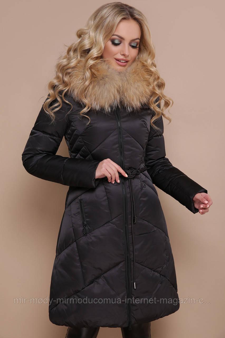 Куртка 18-86. Цвет: черный размеры (46-50)  (гм)