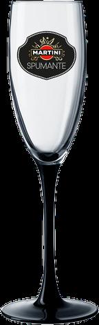 Бокал для шаманского на черной ножке 170 мл, фото 2