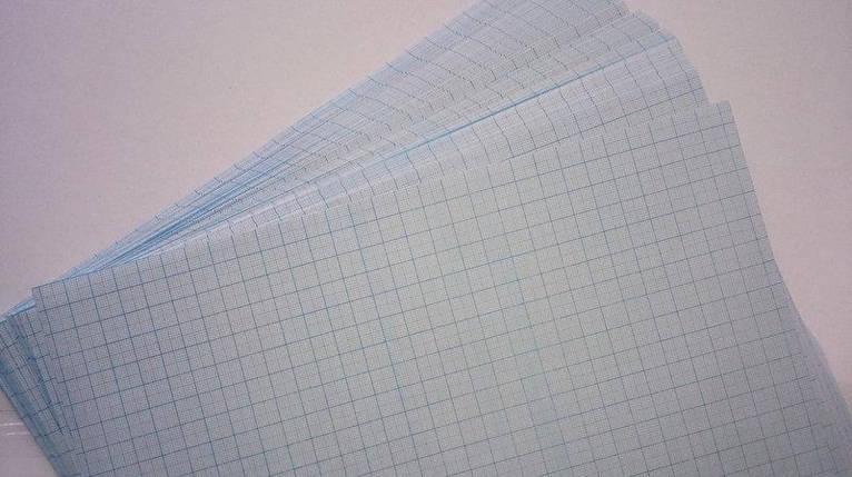 Масштабно-координатная бумага(миллиметровка) А4 (100 шт), фото 2