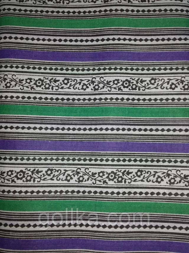 Ситец плательный, халатный  (полосы) (95) Узбекистан