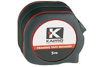 Рулетка с нейлоновым покрытием 5м-18мм, KAPRO (608-05), фото 1