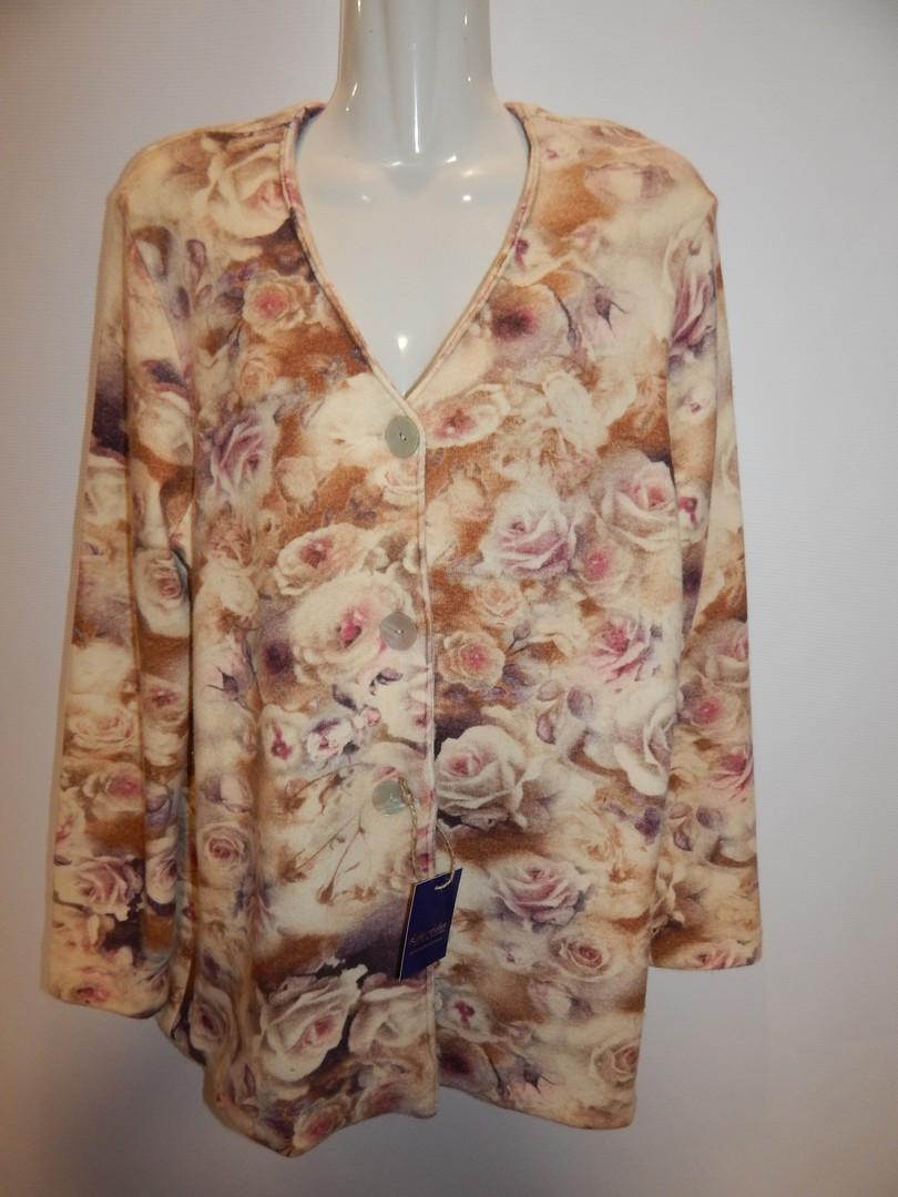 Кофта (жакет)  женская Fashion р.50-52 194кж