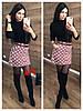 Юбка (Фабричный Китай) Ткань вельвет, подкладка-шортики, пояс в комплекте Р-р 42/44 , 44/46. (15155), фото 2