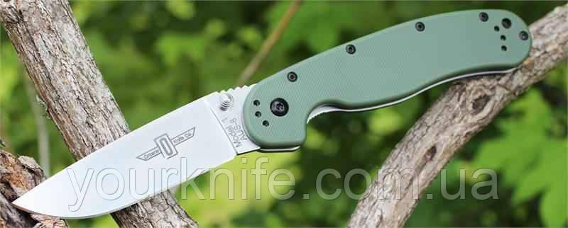 Купить Нож Ontario Rat Folder 1 OD Green