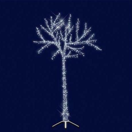 """3D Светодиодная универсальная конструкция дерево """" Сказочное"""" 2.5*1.5"""