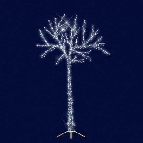"""3D Светодиодная универсальная конструкция дерево """" Сказочное"""" 2.5*1.5, фото 2"""