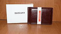 Зажим для купюр мужской Elegant(кож.зам.), COF-1006 Коричневый, размер 110*75*15