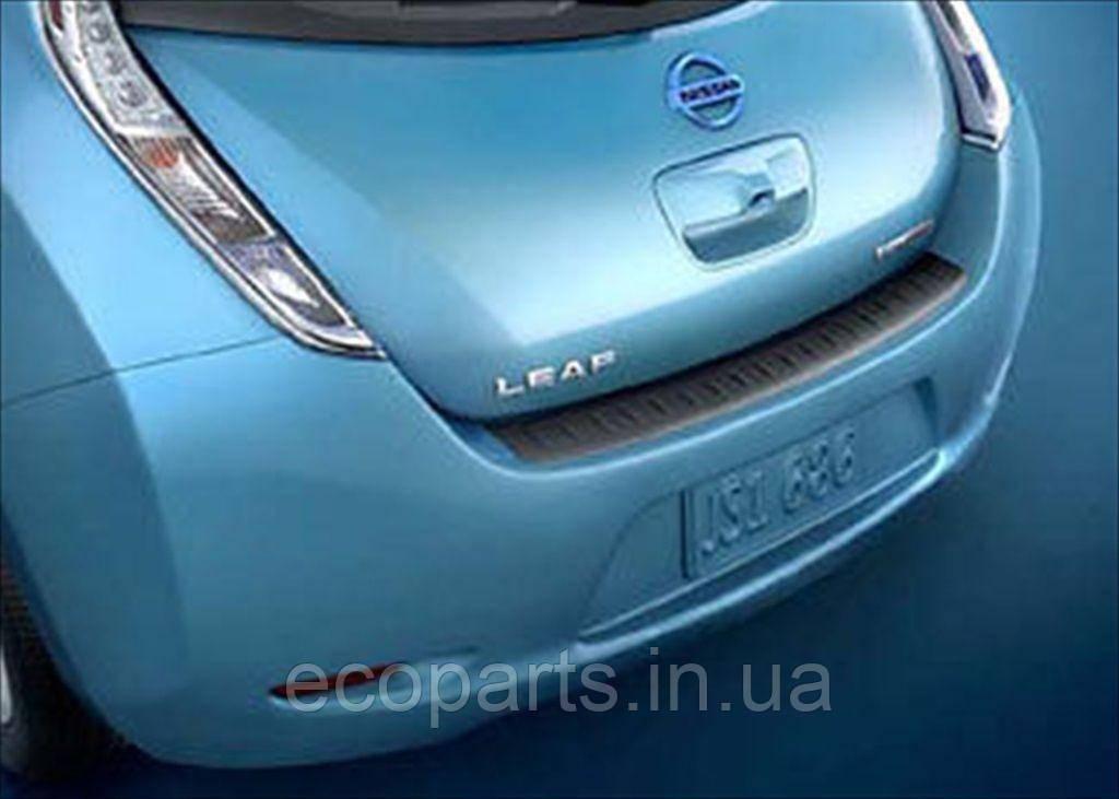 Накладка на задній бампер Nissan Leaf