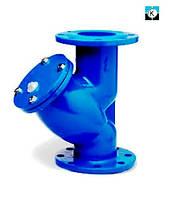 Фильтр чугунный осадочный фланцевый (грязевик) ДУ100 РУ16