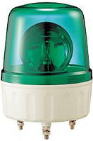 Проблесковый маячок зеленый + сирена 24 VDС AVGB24G