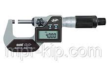 Мікрометр цифровий KM-2133-25 / 0.001 (0-25 мм) у водозащищенном металевому корпусі IP 65