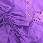 Стильные блузки, купить фиолетовую,рубашки женские , Бл 006-1, фото 3