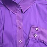 Стильные блузки, купить фиолетовую,рубашки женские , Бл 006-1, фото 2