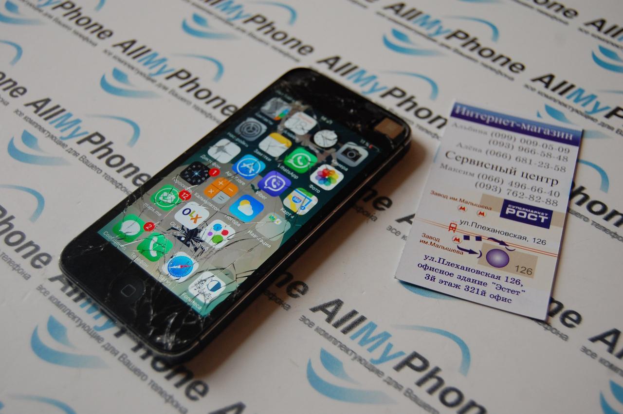 замена стекла iphone 5 s харьков