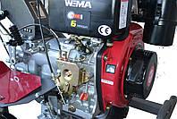 Мотоблок WEIMA (Вейма) WM1100А-6 КМ DELUXE (дизель 6л.с.), фото 3