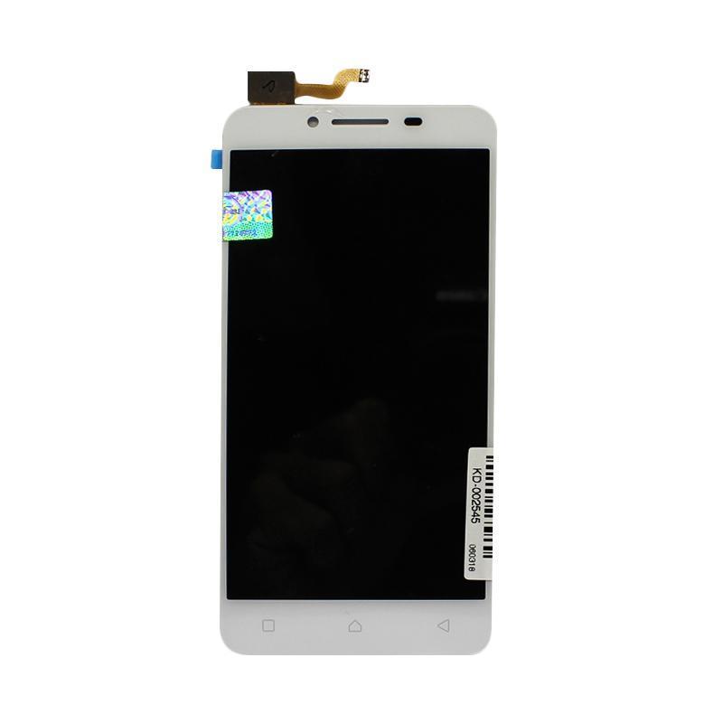 Дисплей для Lenovo A6600 (2016) с тачскрином белый Оригинал
