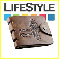 Кожаный мужской кошелек Bailini , фото 1