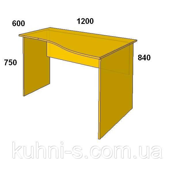 Офисная мебель в Киеве Стол письменный БЮ 108