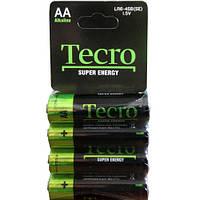 Батарейка Tecro LR6-4SB (SE)