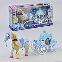 """Игровой набор «Карета принцессы""""  686-723 (24) в коробке"""