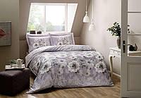 Двуспальное евро постельное белье TAC Giana Сатин-Digital