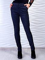 Стильные брюки с принтом